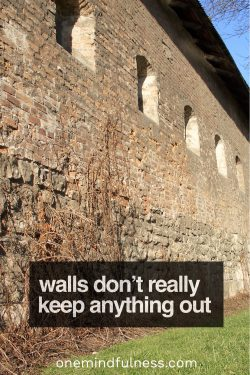 Walls Don't Really Keep Anything Out