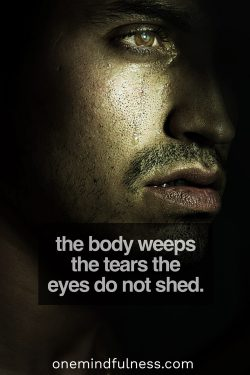 The Body Weeps The Tears The Eyes Do Not Shed