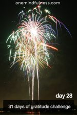 31 Days of Gratitude Challenge Day 28