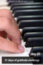31 Days of Gratitude Challenge Day 27