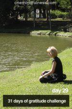 31 Days of Gratitude Challenge Day 29