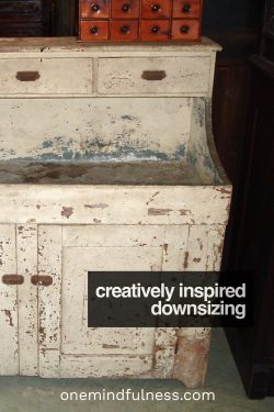 creatively inspired downsizing