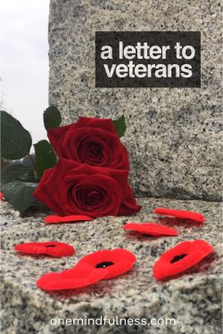 Letter to Veterans
