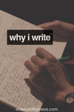 Why I write on this blog