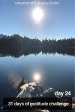 31 Days of Gratitude Challenge Day 24