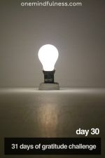 31 Days of Gratitude Challenge Day 30