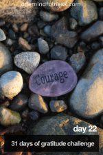 31 Days of Gratitude Challenge Day 22