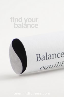 Find your balance