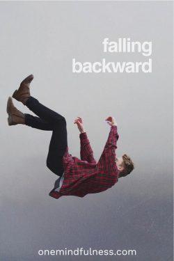 Falling backward